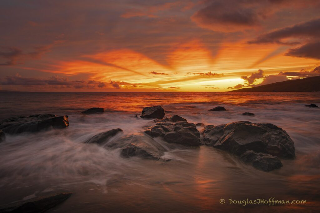 Mystical Sunset 72 x 48