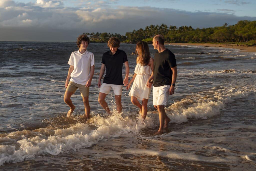 Maui Beach Family Photo